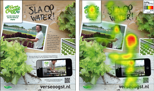 Eyetracking bij print media